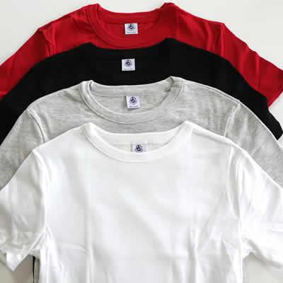 PETIT BATEAUクルーネック半袖Tシャツのアイテム写真