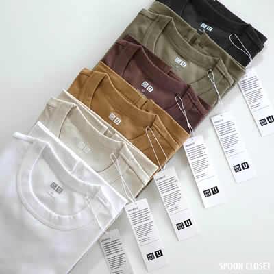 UNIQLOクルーネック半袖Tシャツのアイテム写真